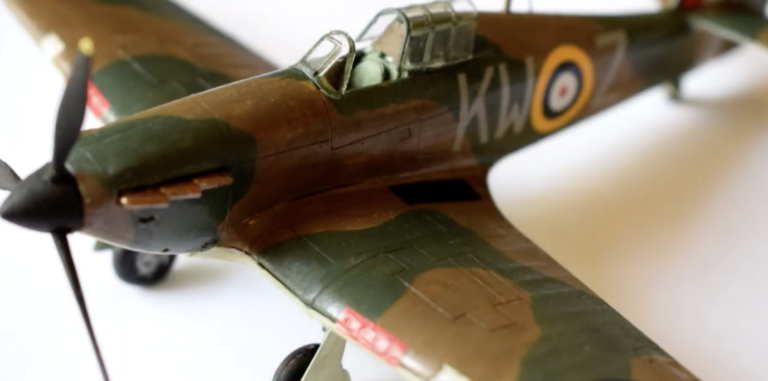 Airfix Hawker Hurricane MkI Airplane Model Kit