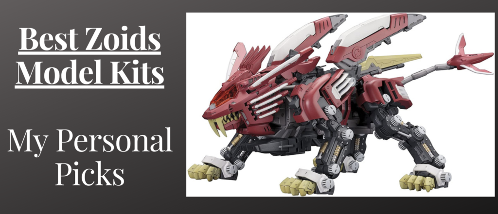 Best zoids model kits