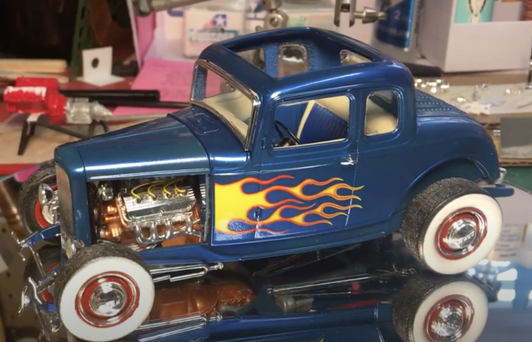 Revell 32 Ford 5 Window Coupe 2 and 1
