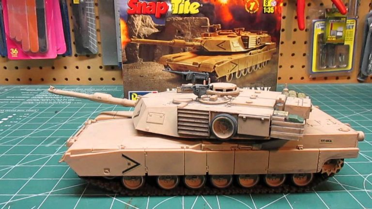 Revell Abrams M1A1