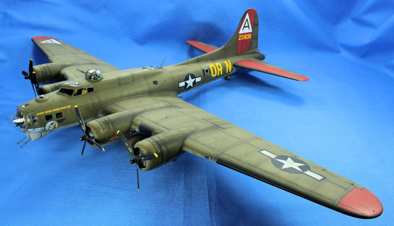 Revell B17G Flying Fortress Airplane Model Kit