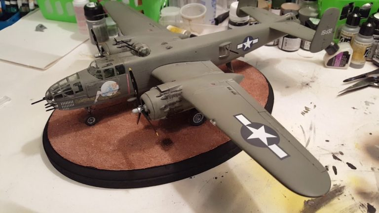 Revell B25J Mitchell Airplane Model Kit