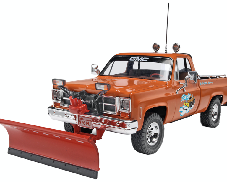 Revell GMC Pickup Truck with Snow Plow