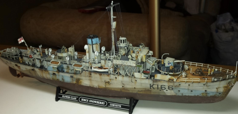 Revell HMCS Snowberry Model Kit