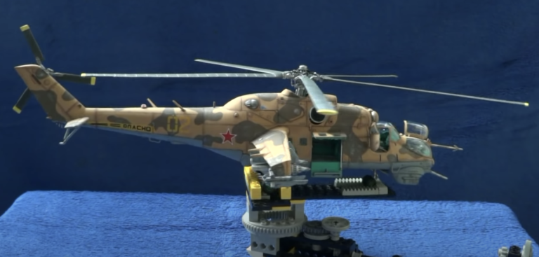 Revell:Monogram MiL-24 Hind Helicopter