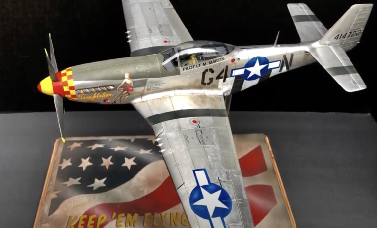 Tamiya P-51D Mustang Airplane Model Kit