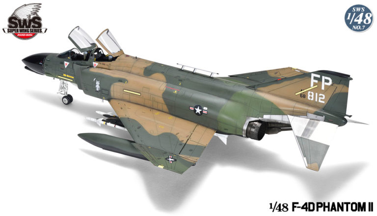 Zoukei-Mura F-4D Phantom II Super Wing Series No. 7